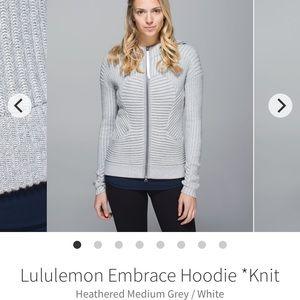 Lululemon knit sweater size 6
